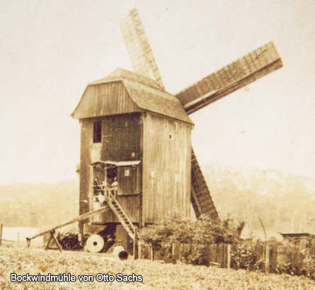 Bockwindmühle von Otto Sachs