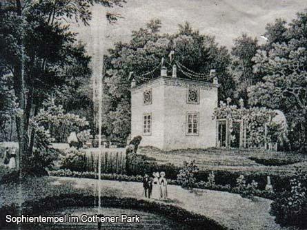 Sophientempel im Cöthener Park