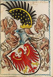 Der märkische Adler, Wappen der Mark Brandenburg seit 1170