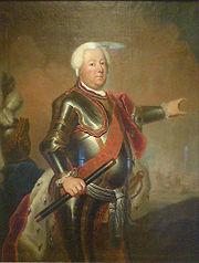 Friedrich Wilhelm I. von Preußen (Gemälde von Antoine Pesne, um 1733)