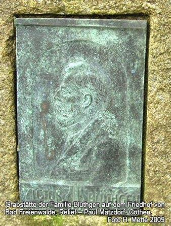 Grabstätte Familie Blüthgen