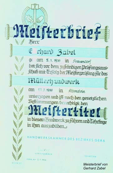 Meisterbrief 2