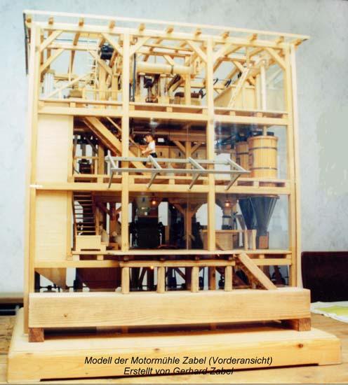 Modell der Mühle