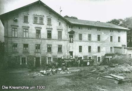 Die Kreismühle um 1930